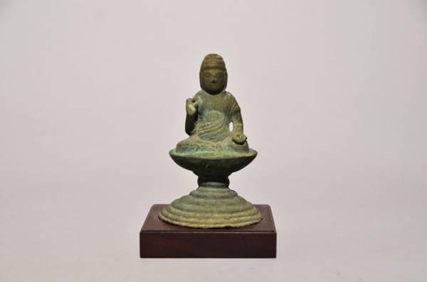 『特別出品』金銅薬師如来坐像(平安時代11世紀~12世紀)