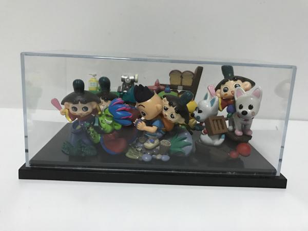 おじゃる丸☆ヴィネットフィギュア☆全5種・箱入 グッズの画像