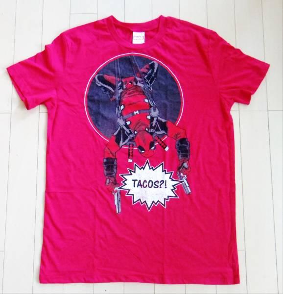 マーベル デッドプール日本未発売 Tシャツ メンズSサイズ新品送料込 MARVEL DEADPOOL TACOS?! Tshirt