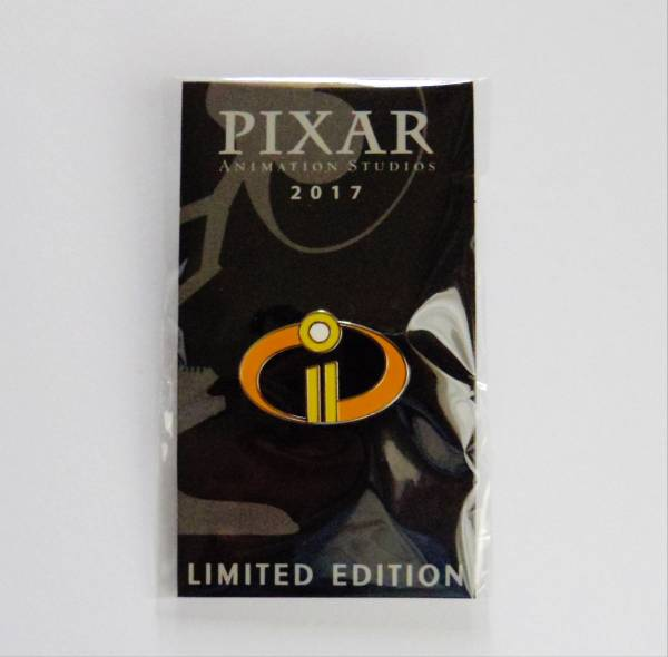 2017 D23 EXPO 限定 ピクサー「ミスターインクレディブル2」ピンバッジ ピンズ 新品 PIXAR The Incredibles2 Pins_画像1