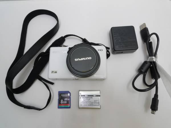 OLYMPUS オリンパス XZ-1 ホワイ コンパクトデジタルカメラ上級機