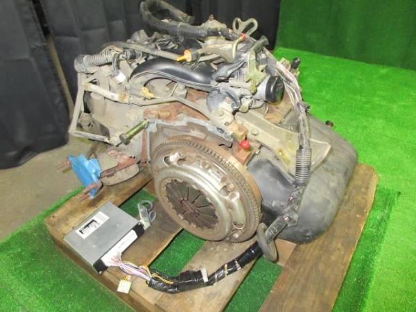 【ジャンク】 ハイゼット GD-S210P エンジン EF-SE ECU付_画像3