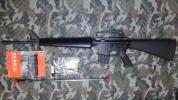 WE M16 A1 GBB オープンボルト刻印仕様 おまけ付