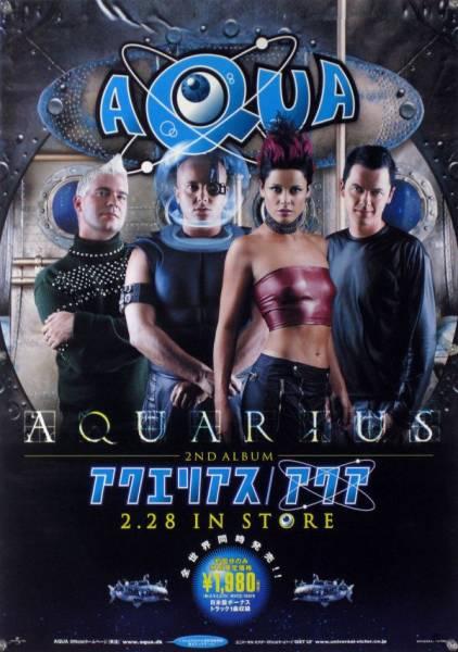 AQUA アクア B2ポスター (F10012)