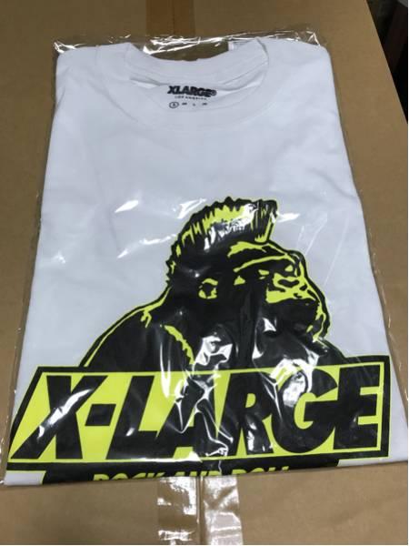 AIRJAM2016会場限定XLARGE Tシャツエクストララージ S ステッカー付き ホワイト 白 ハイスタhi-standardワンオクoneokrockワニマwanima