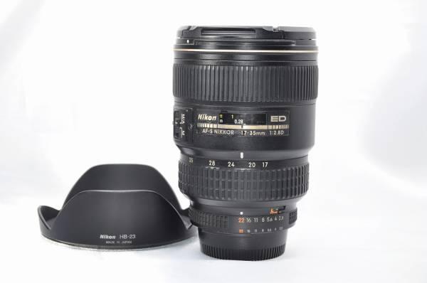 極美品 Nikon ニコン AF-S NIKKOR 17-35mm F2.8D ED #252