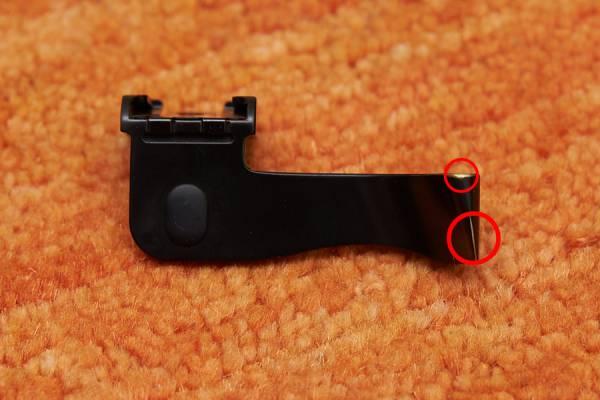 親指グリップ Thumbs Up CSEP-1S ブラック Leica M8/M8.2/M9/M9-Pに