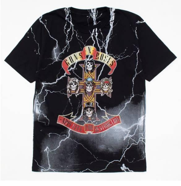 バンドTシャツ 【 ガンズ アンド ローゼズ / APPETITE FOR DESTRUCTION 】 送料無料 ★ ロックT / Guns N' Roses / 新品 / L / 6TB087