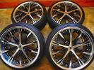深リム WORK シュバートSC4 5H-100 30 50 プリウス ウィッシュ レガシー インプレッサ トヨタ86 BRZ レクサスCT200h PCD100 新品タイヤ付