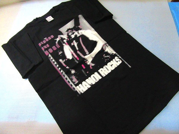 f1665n 希少★未使用★ハノイロックスHANOI ROCKS JAPAN TOUR2003TシャツMライブ夏フェス