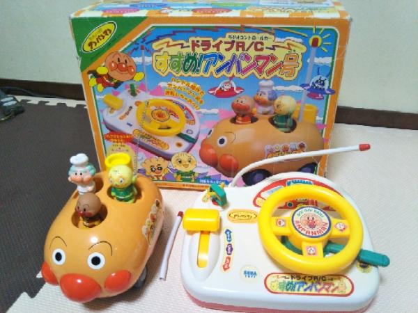 ★激レア★ドライブ ラジオコントロールカーR/C すすめ!アンパンマン号 グッズの画像