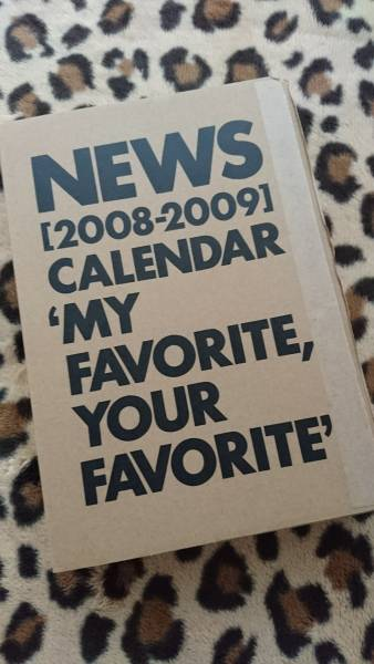 新品■NEWS■2008-2009カレンダー■山下智久■錦戸亮■小山慶一郎■加藤シゲアキ■手越祐也■増田貴久