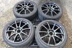 ADVAN Racing アドバンRZ 8J+45 114.3-5H 225/40R18 FD2シビックR FN2 CR-Z レクサスIS アルテッツァ アテンザ アコード オデッセイ