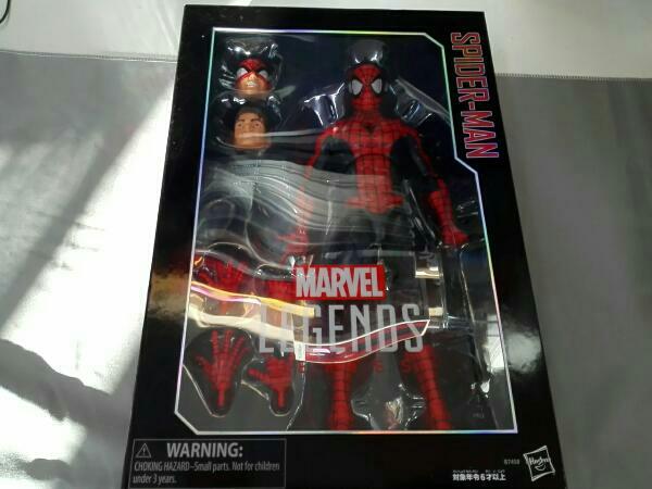 #01 スパイダーマン 「スパイダーマン」 ハズブロアクションフィギュア 12インチ レジェンド グッズの画像