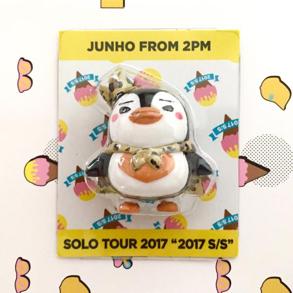 2PM★ジュノ★ミニチュアペンペン★Junho from 2PM ソロツアー 2017 S/S 【新品未開封】