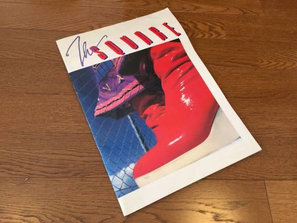 ☆★昔懐かしの...ライブパンフレット【T SQUARE 83】 Tスクエア/FIテーマ フュージョン