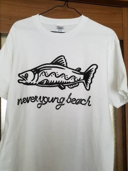 【古着】never young beach Tシャツ