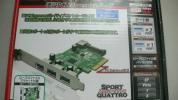 エアリア SPORT QUATTRO SD-PE4U3E-3E1L PCI Express x4 接続 USB3.0ボード 外部3ポート 内部1ポート ロープロファイル対応