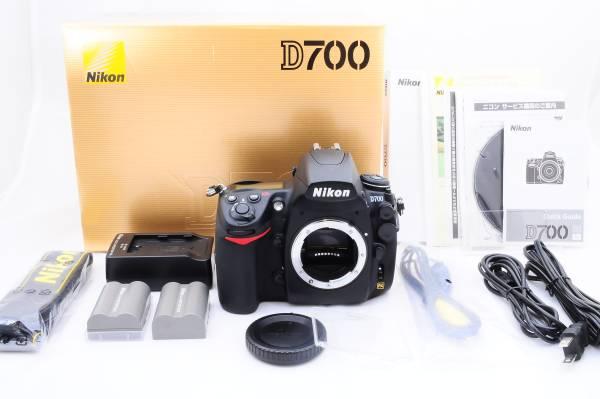 ★FXフォーマットのフラッグシップ機 極上品★ニコン Nikon D700 元箱付★