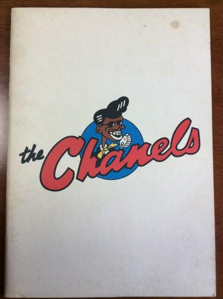 送料無料 シャネルズ パンフレット the Chanels ラッツ&スター 鈴木雅之 田代まさし
