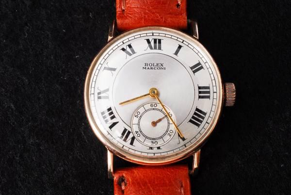 アンティーク ロレックス (ROLEX) マルコーニ腕時計 198754
