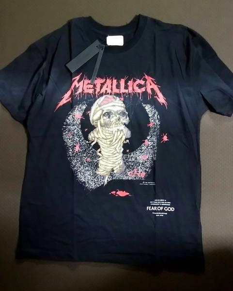 (送料込)XLサイズ fearofgod fear of god METALLICA メタリカ Tシャツ fog 日本未発売 ルーズタイプ BOX offwhite フィアオブゴッド ライブグッズの画像