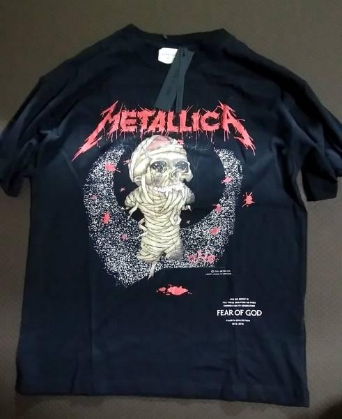 (送料込)Lサイズ fearofgod fear of god METALLICA メタリカ Tシャツ fog 日本未発売 ルーズタイプ BOX offwhite フィアオブゴッド ライブグッズの画像