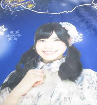 AKB48 福岡聖菜 全身タペストリー 2015 希少 開封品(管理:88) ライブ・総選挙グッズの画像