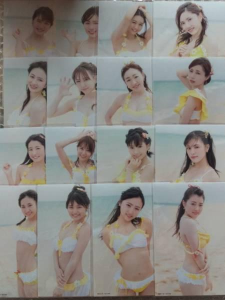 SKE48 意外にマンゴー 初回盤 生写真 16人 (16枚) コンプ +店舗特典生写真2枚 封入 封入生写真 選抜 水着 16 ライブグッズの画像