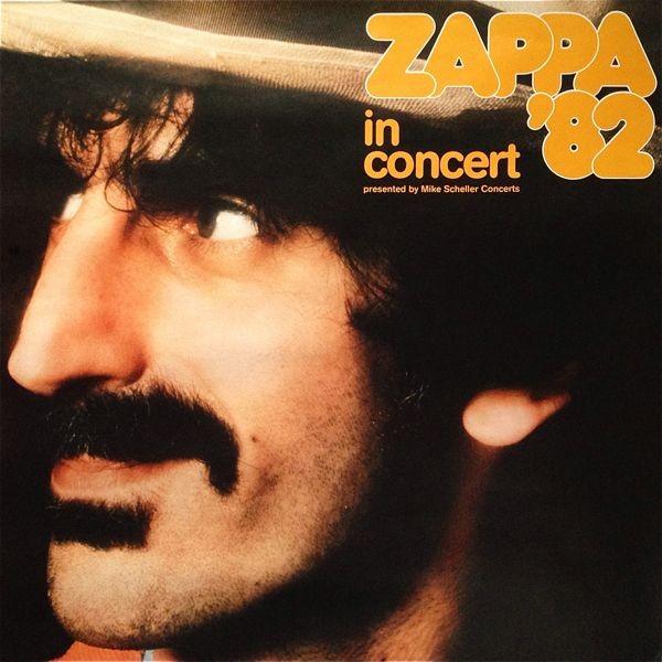 【値下げ】ビンテージ・ポスター■Frank Zappa【82年 欧州ツアー 特大ポスター】You Are What You Is■フランクザッパ