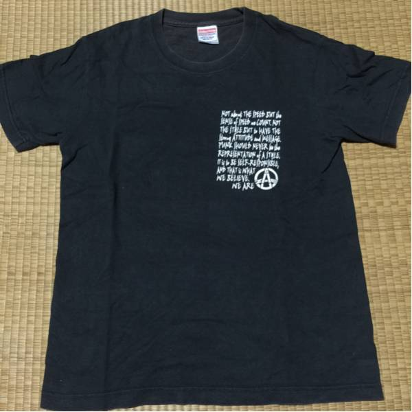GAUZE Tシャツ OLEDICKFOGGY Discharge. disclose gism doom crass slang 鉄アレイ ガーゼ ハードコア