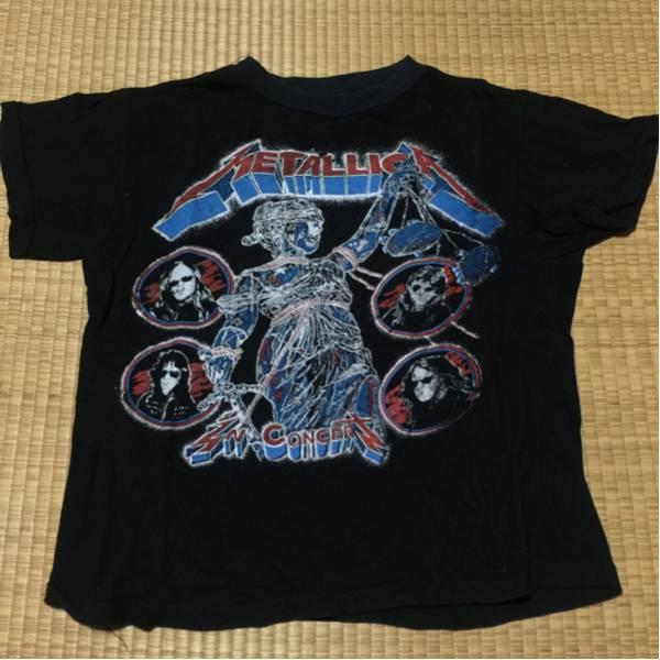 ヴィンテージ METALLICA メタリカ Tシャツ VINTAGE メタル ライブグッズの画像