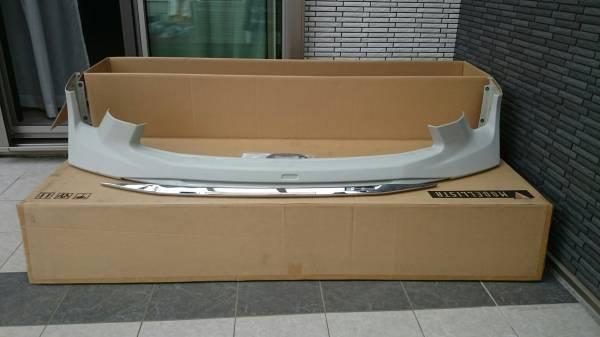 新品☆アルファード 20 系 後期 モデリスタ フロント バンパー スポイラー 未塗装 Sグレード エアロ 純正 トヨタ