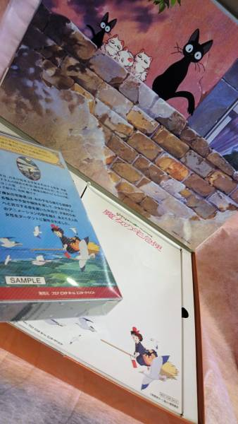 スタジオジブリ 魔女の宅急便 店舗販促用 BOX ビデオ サンプルキット 貴重品 ( 非売品_画像3