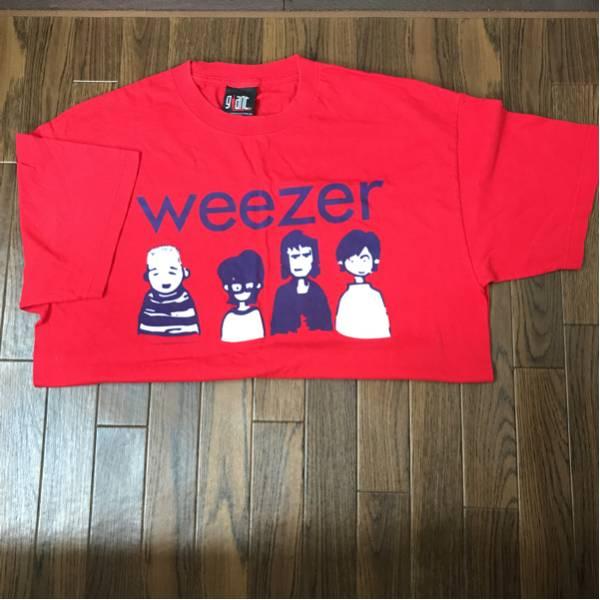 【新品・未使用】weezer Tシャツ/バンドT/ウィーザー/メンズ