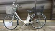 【地域限定でお届け】電動アシスト自転車 Yamaha PAS 銀色 26インチ3段内装変速 バッテリー充電器付き