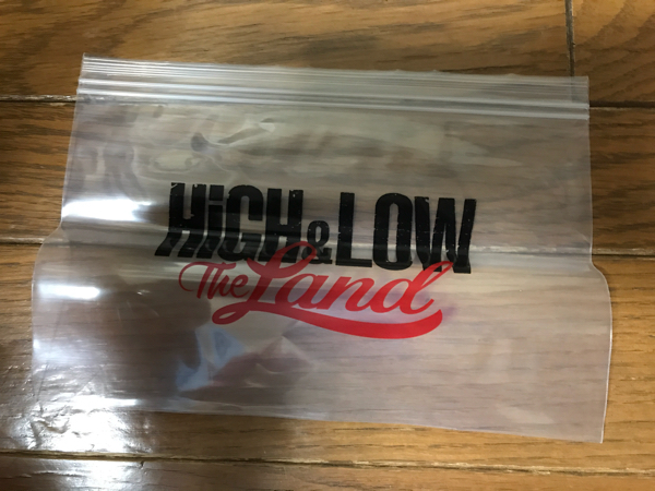 HiGH&LOW THE LAND ハイローバッグズ ジップバッグ EXILE THE SECOND 三代目J Soul Brothers GENERATIONS E-girls DOBERMAN INFINITY
