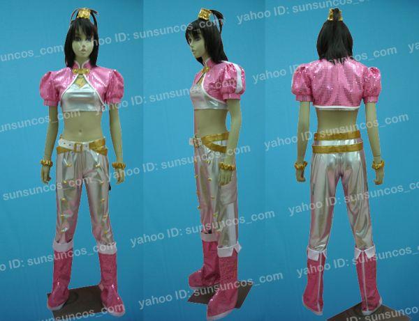 THE IDOLM@STER2 アイドルマスター 我那覇響風 ピンクダイヤモンド ●コスプレ衣装_画像1