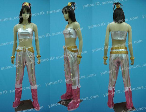 THE IDOLM@STER2 アイドルマスター 我那覇響風 ピンクダイヤモンド ●コスプレ衣装_画像2
