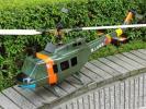 ★非常に大型サイズ 陸上自衛隊 JG-157 ヘリコプター ラジコン エンジン 軍用ヘリ 混合ガソリン? ビンテージ ジャンク品