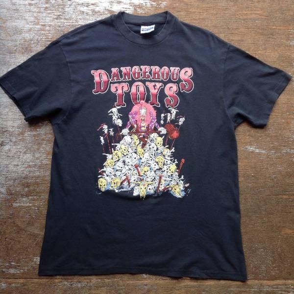 80s DANGERROUS TOYS バンド Tシャツ XL メタル ヘヴィメタ ロックT デンジャラス トイズ