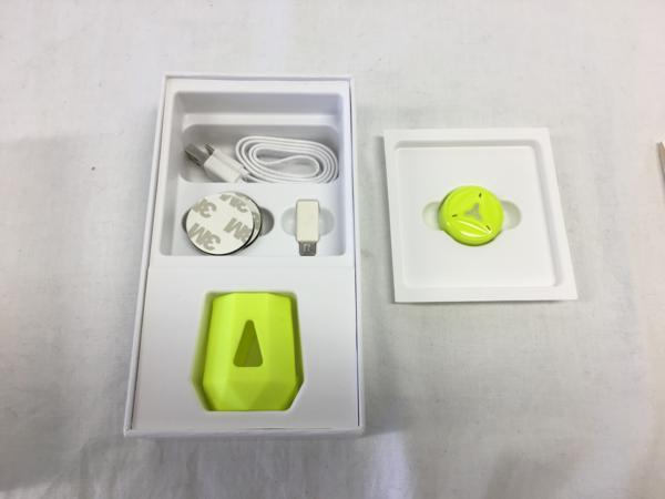 Plusdoti社製品 Tennis Swing Sensor スマートテニスセンサーbluetooth android IOS 互換 Tennis-POD テニスポッド イエロー 黄色_画像1