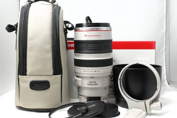 ★新品級★キヤノン Canon EF 100-400mm F4.5-5.6 L IS USM 動作確認済み 元箱あり 長期保証 付属品充実 キャノン #A0144