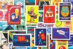 标签 - チェコの古いマッチラベル30枚セットA/ヴィンテージ ノベルティ イラスト ラッピング コラージュ 美品/