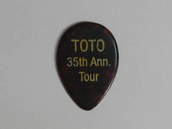 ★TOTO Steve Lukather スティーヴ・ルカサー 2013 Tour ギターピック