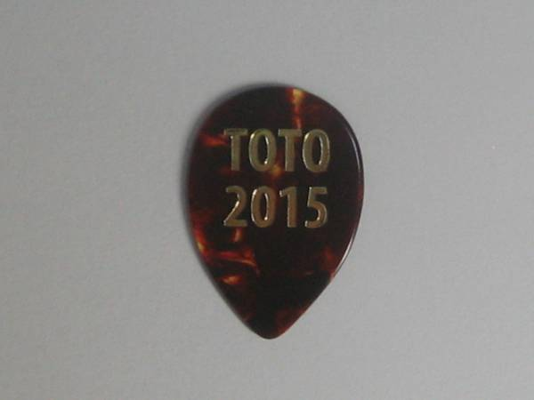 ★TOTO スティーヴ・ルカサー Steve Lukather 2015 Tour ギターピック