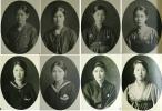1928年昭和3年兵庫県神戸市立第二高等女学校第6回卒業記念写真帖 女学生セーラー服清楚天然美少女美人