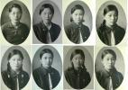 皇紀2595年昭和10年1935年大阪府立女子専門学校卒業記念 女学生水着姿ブルマーセーラー服清楚天然美少女美人