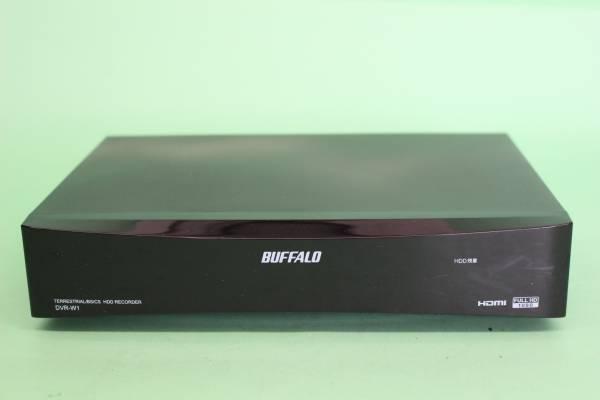 BUFFALO Wチューナー搭載 HDDレコーダー 1TB DVR-W1(動作OK リモコンなし)_画像2