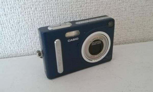 CASIO ズーム デジタルカメラ EXILIM ZOOM EX-Z4 デジカメ エクシリム ジャンク ペンタックス レンズ バッテリー カシオ おまけ ケース